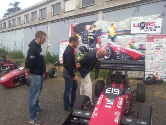 Werkstattbesichtigung Lions Racing Team