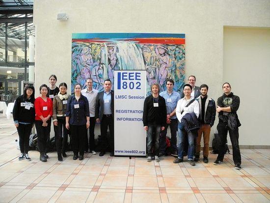 Exkursion zum IEEE 802 Standardisierungstreffen in Berlin