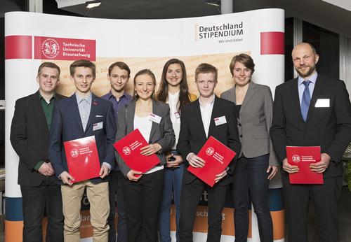Die Deutschland-Stipendiaten/-innen von BHB und Stiftung 2016/2017